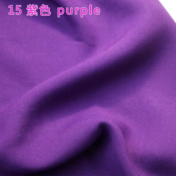 Violet viscose tissu de soie artificielle coton tissu jupe écharpe apperal hijab rayonne tissu 60 large vendu par le yard