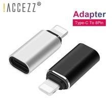 !ACCEZZ Type C Female To Lighting Adapter For Apple IPhone 7 8 Plus X XS MAX USB C To 8pin Male Charging Data Sync OTG Converter иван балаболкин митрофан студеникин татьяна соколова аллергические болезни у детей