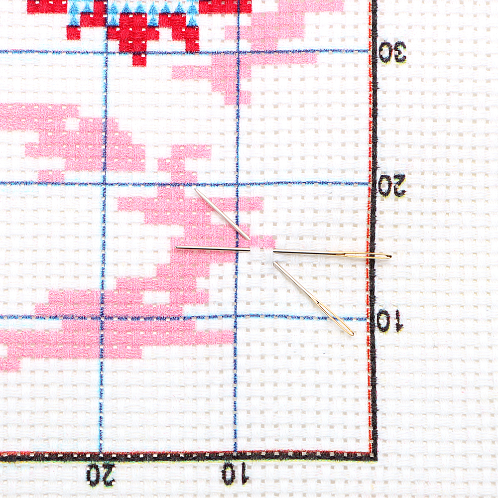 HILIFE gato y patrón de girasol punto de cruz pintura DMC 11CT ...