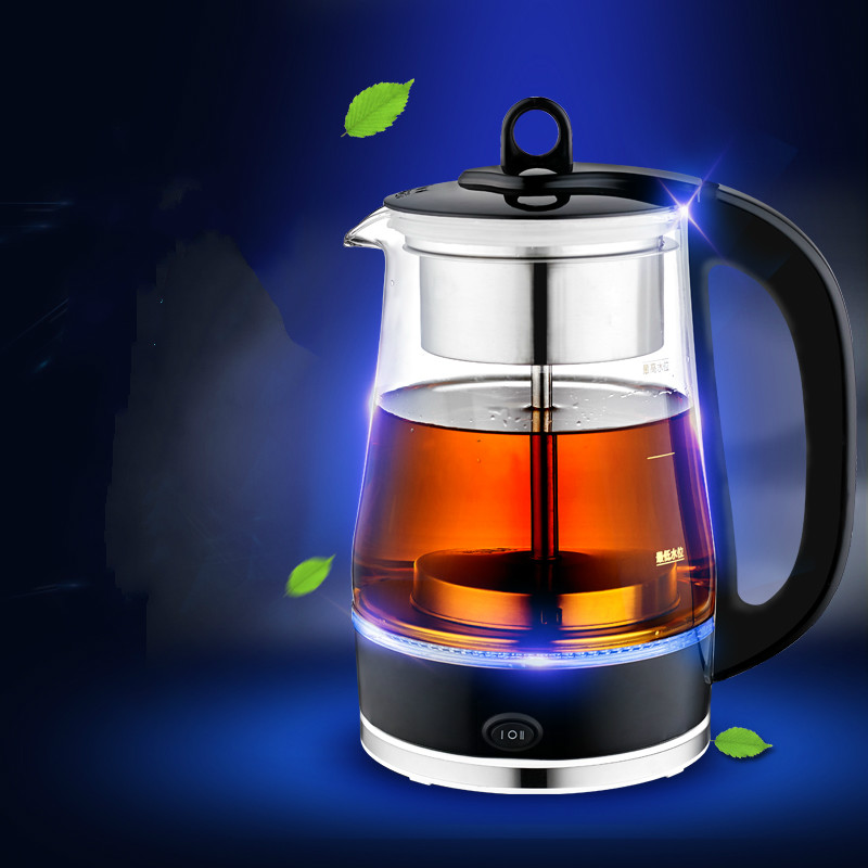 Boil tea ware Black automatic steam glass pu 'er teapot, kettle electric Safety Auto-Off Function silver wings silver wings кольцо 21qsjmi00438 19