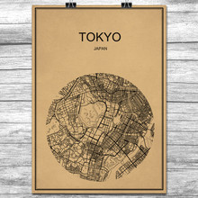 Popular Japan Map PosterBuy Cheap Japan Map Poster Lots From - Japan map poster