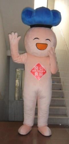Offre spéciale personnage de dessin animé adulte mignon petite poupée rose mascotte costume fantaisie robe Costume de fête