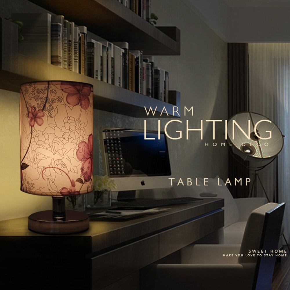 table lamp design desk LED lamp table lights bedroom cloth Lamp shade nordic lamp table creative modern minimalist E27 110V 220V
