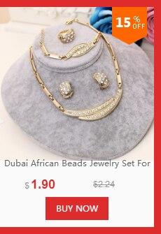 dianxiaobao - Nouveaux Ensembles De Bijoux Africains Or, Collier Boucles D'oreilles Bracelet Anneau Femmes,