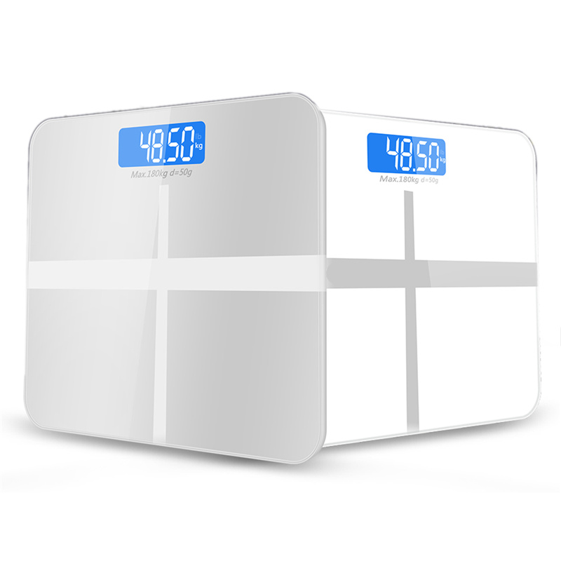 GASON(A1) Bathroom floor scales smart household electronic digital Body bariatric LCD display Division value 180kg=400lb/0.1kg