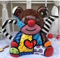 Creative personality Bear Ceramic Teapot teapot kettle Home Furnishing decoration