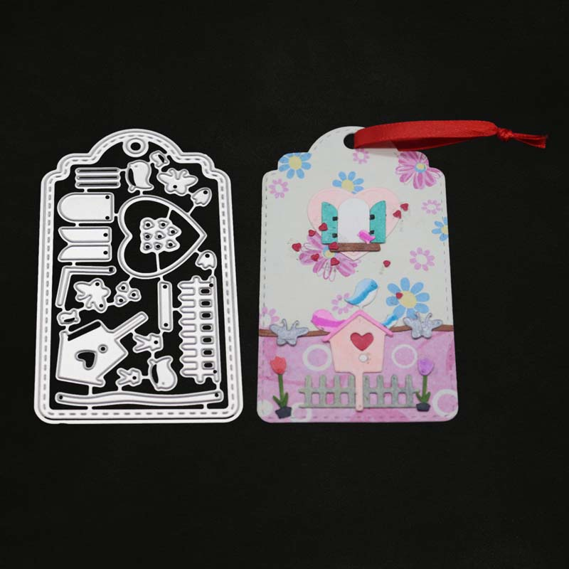 Baby bed Metal Cutting Dies For Scrapbooking Paper Craft Baby Shower Decor TK