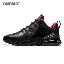 ONEMIX hommes chaussures de course Max Nice rétro classique baskets athlétiques Zapatillas noir route chaussures de Sport en plein air marche baskets