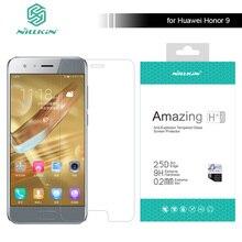 Pour Huawei Honor 9 2.5D D'origine Nillkin 9 H Incroyable H + Pro 0.2mm Ultra-mince En Verre Trempé Protecteur d'écran Honneur 9 Verre