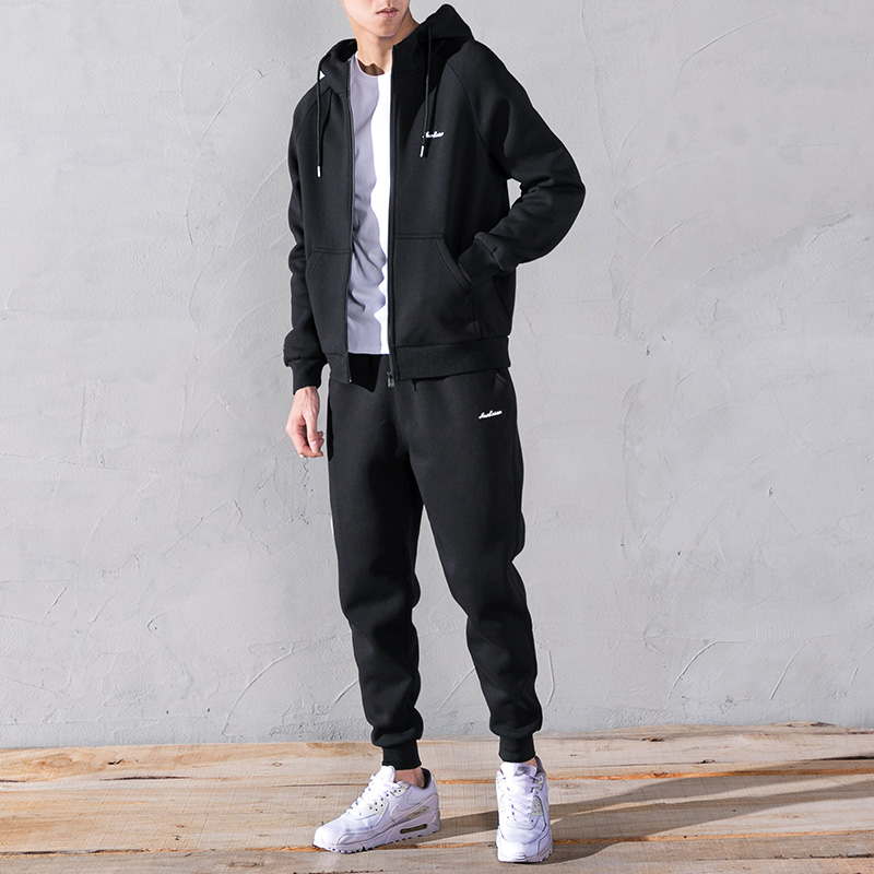 Plus 8XL 7XL 6XL 5XL Men Set Tracksuit Two Piece Sets 2019 Spring Autumn Male Thin Sweatshirt + Pants Sporting Suit Men's Set