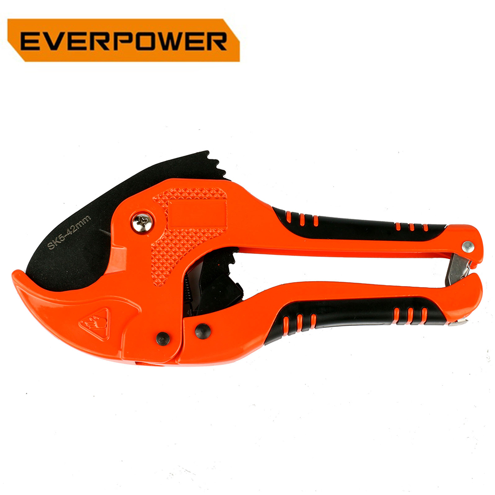 Everpower PVC PE PPR Pipe Cutter Tube Plastic Shears Pipes PVC Cutters Tool Hose Cuts SK