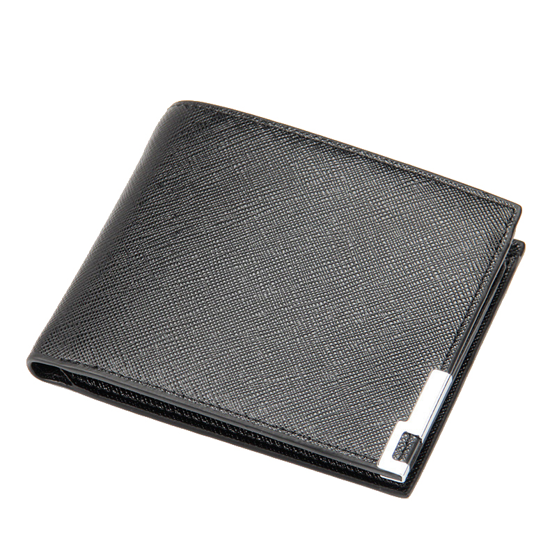 European Style Business Dollar Price Wallet Ultra Thin Casual Men's Wallets 3 Fold No Zipper Credit Card Holders Purse dollar price new european and american ultra thin leather purse large zip clutch oil wax leather wallet portefeuille femme cuir