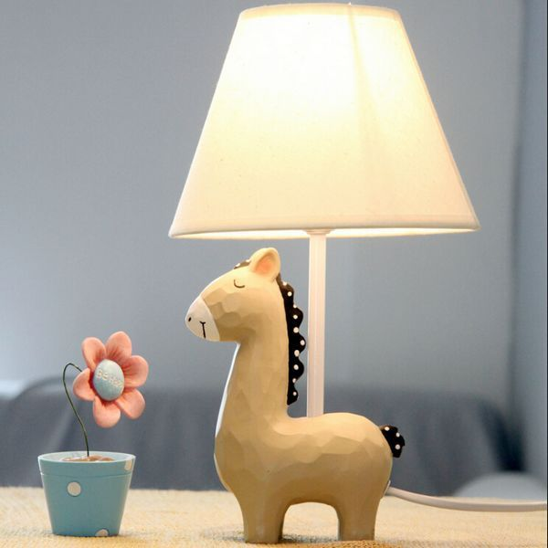 Mini horse table lamp kid room very cute desk light lighting bedroom mini horse table lamp kid room very cute desk light lighting bedroom in table lamps from lights lighting on aliexpress alibaba group aloadofball Gallery