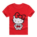 2017 Character Summer Cute Kids T-shirts Girls Clothes Cartoon Girls T-shirt Baby Girls Short Sleeve Top Children Clothing ss067