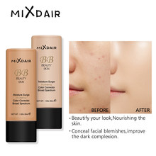 MIXDAIR Liquid Foundation Face Make Up Base BB Cream Moisturizing Whitening Concealer Long Lasting Face Primer Waterproof(China)
