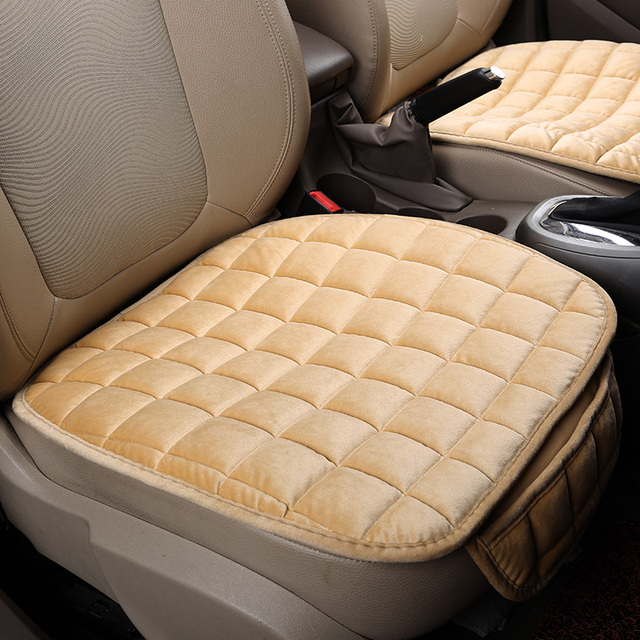 New universal seda velvetl interior do carro capa de almofada do assento único ix35 seatpad para vw golf a4 audi bmw benz honda