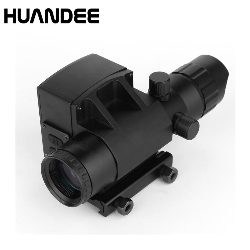 4X32 Riflescope Hunting Gunsight  with laser rangerfinder optical sight high speed measurement  range finder LS001