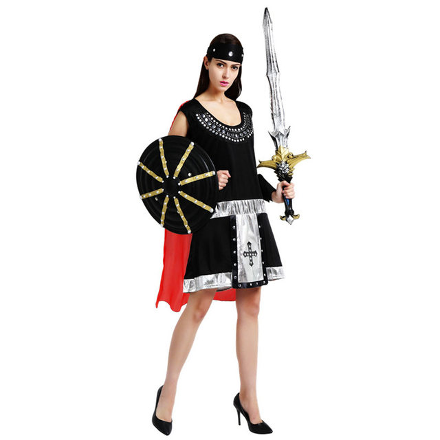 Halloween Carnival Adult Ancient Roman Greece Greek Soldier Gladiator Costume Spartan Warrior Costumes for Men Women Couple  sc 1 st  Aliexpress : mens spartan costume  - Germanpascual.Com