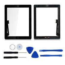 1Pcs For iPad 4 4th Gen A1458 A1459 A1460 9.7 LCD Outer Touch Screen Digitizer Front Glass Panel Replacement original for ipad 9 7 2018 version for ipad 6 gen a1893 a1954 touch screen digitizer front outer panel glass replacement