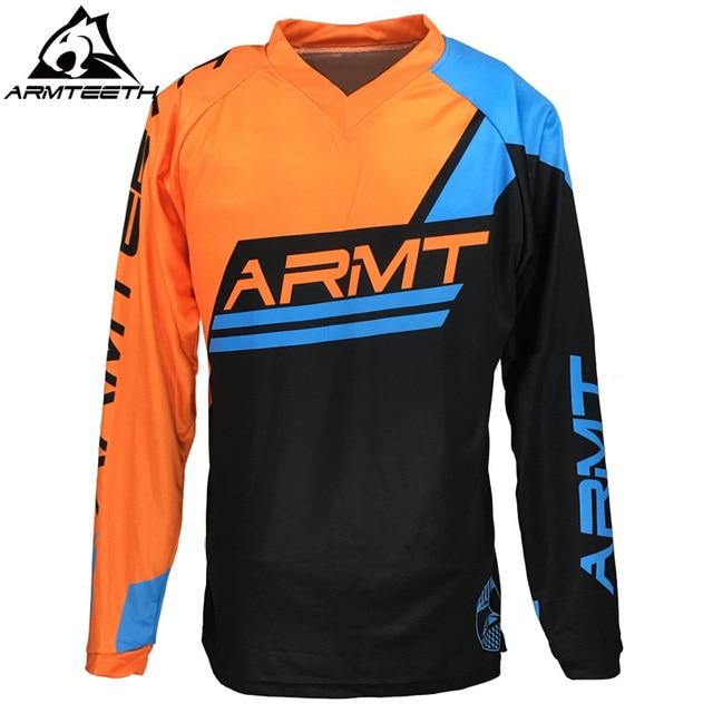a6cd91d3a3c 2018 Armteeth Motocross Jersey MX MTB Off Road Mountain Bike DH Bicycle  Jersey BMX Motorbike Shirts