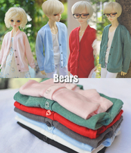 1/3 1/4 scale BJD clothes Knit cardigan coat doll accessories for EID SD.Not included doll,shoes and other accessories NO0529