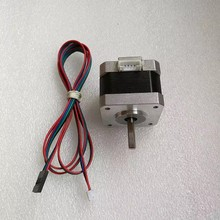 free shipping 17HS3401 4-lead Nema 17 Stepper Motor 42 motor 42BYGH 1.3A CE ROSH ISO CNC Laser and 3D printer