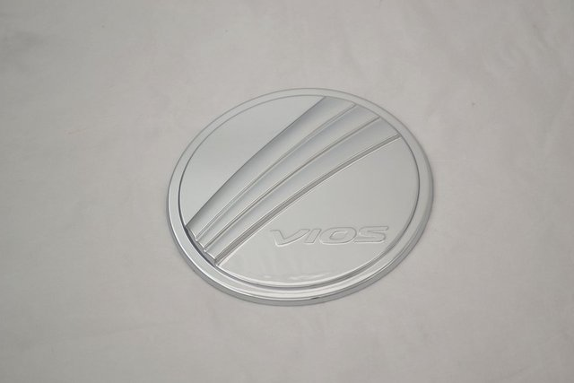 Auto chrome accessories,oil tank cover trim for Toyota Vios 2014,ABS chrome,free shipping