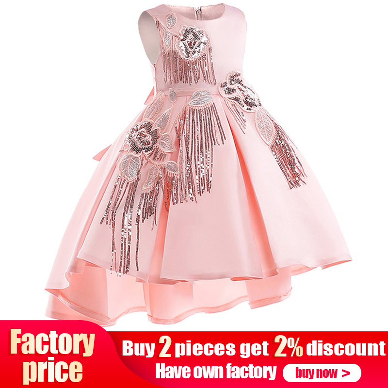 Pageant dresses girls flower dresses kids first communion dresses children's ball gown clothing baby costume vestido comunion