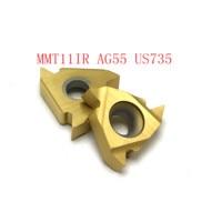 ag55 vp15tf ue6020 פנימית חוט הפיכת כלי 20PCS MMT11IR AG55 VP15TF / UE6020 / US735 כלי קרביד 55 (2)