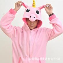 Pink Pegasus Coral Long Sleeve Animal Adult Hoody Sweatshirts Sweater Cosplay Costume For Party Wear Halloween Christmas Gift