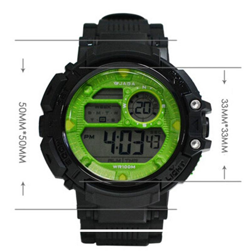 JAGA Hombres Relojes Deportivos Relojes Multifunción para Hombres - Relojes para hombres - foto 5