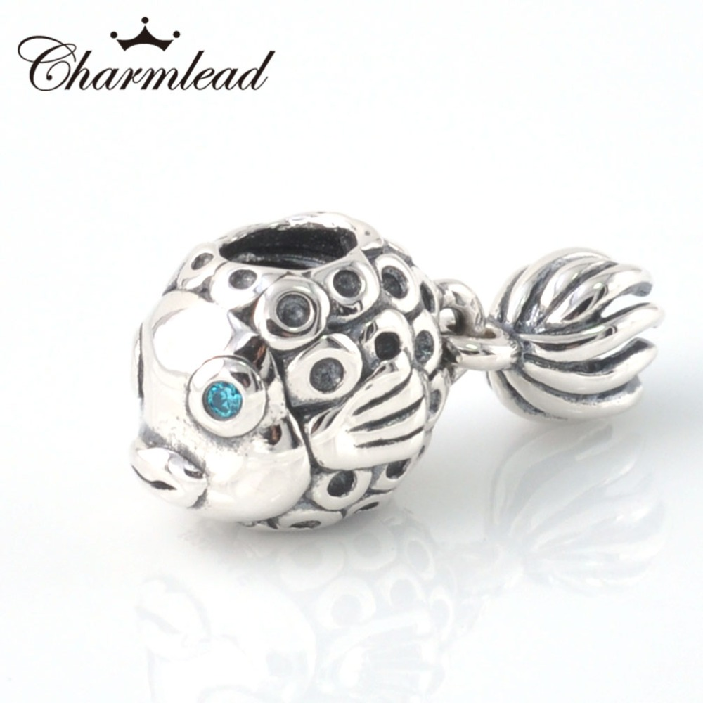 33bd7f520 Fit Pandora Bracelet Charms 925 Sterling Silver Beads Angel fish Charm  Silver Beads DIY Silver Bracelet Jewelry Making Charmlead
