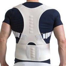 Magnetic Therapy Men Women Braces & Supports Belt Shoulder Posture Corrector Brace Shoulder Back Support Belt shoulder magnetic support brace protector black size l