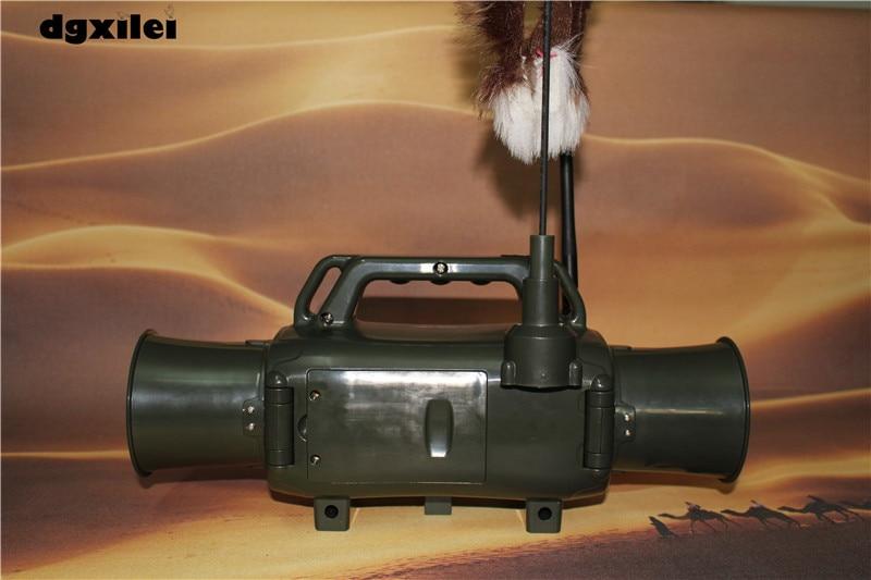 Outdoor Hunting Animal Bird Caller Device Decoy Bird Sound Loudspeaker CP-580 Shooting Dual Speakers Two-way Remote Control