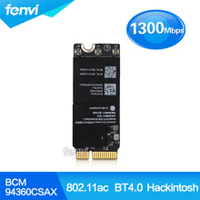 Airport Wireless Wifi Bluetooth card for Macbook Pro BCM94360CSAX 802 11AC BT 4 0 RMBP 653