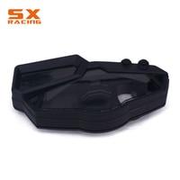 Motorcycle Black Speedometer Tachometer Instrument Gauge Case Cover For KAWASAKI Ninja 300R EX300 2013 2014 2015 2016