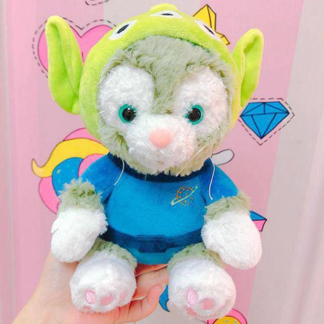 Cute Duffy Bear Friend Gelatoni Japanese Anime Plush Toy Kawaii Cat Soft Stuffed Aniaml Doll For