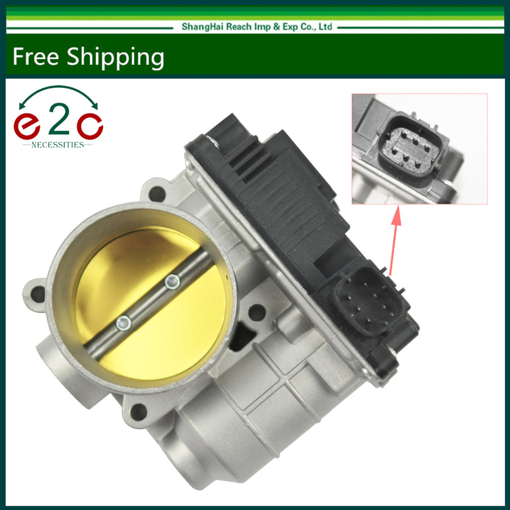 e2c Complete Throttle Body Assembly For Nissan 02-06 Sentra Altima 2.5L TBI w/ sensor OE# 16119-AE013 16119-AE01C 16119-JF00B 60mm fuel injection throttle body for 2002 2006 nissan altima sentra 2 5l qr25de