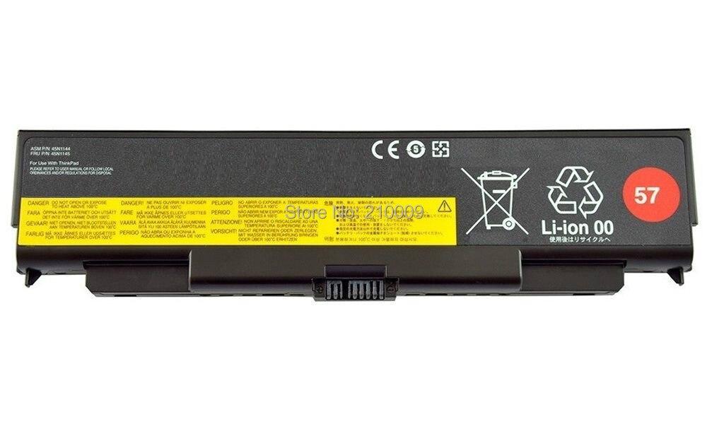 Аккумулятор для ноутбука T440p T540p W540 L440 L540 батареи 45N1158 45N1159 6-ячейки