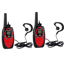 3 color 2pcs Retevis RT628 Walkie Talkie + Headset 0.5W UHF Europe Frequency 446MHz LCD Display 8CH Portable Radio A1026