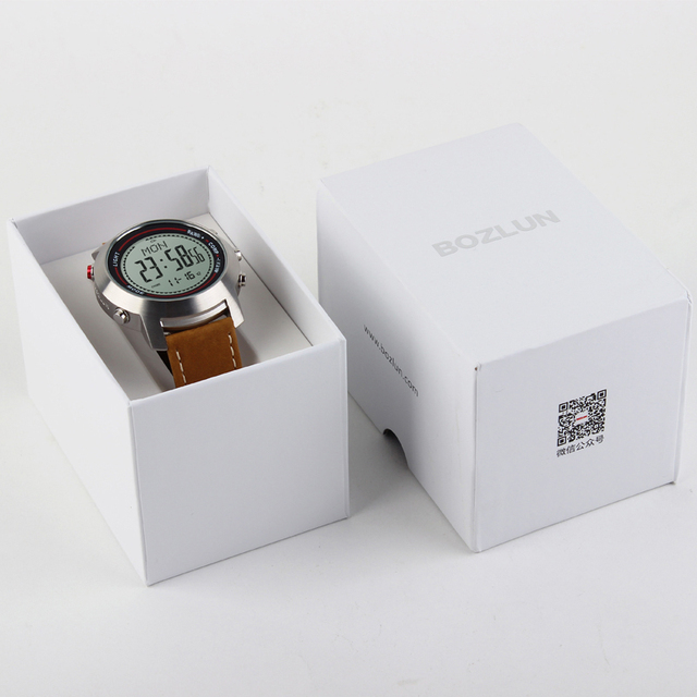 Bozlun Men's Fashion Leather Sports Watch - MG03 5