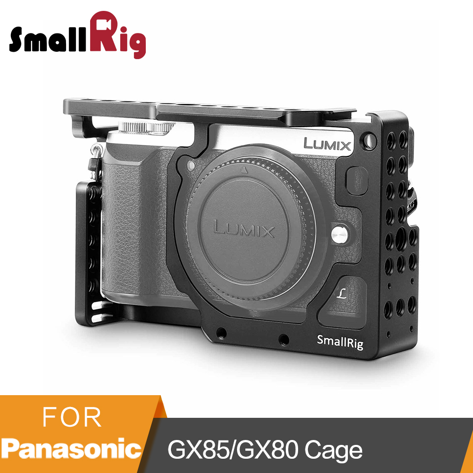 SmallRig Камера клетка для Panasonic Lumix DMC-GX85/GX80/GX7 Mark II-1828