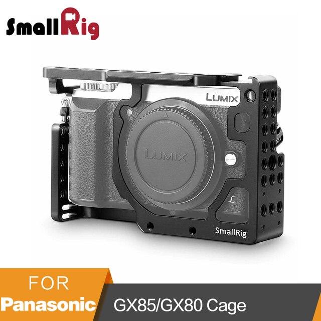 SmallRig מצלמה כלוב עבור Panasonic Lumix DMC GX85/GX80/GX7 Mark II 1828