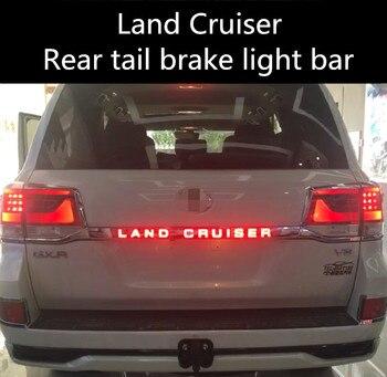 For 08-19 Toyota Land Cruiser rear tail door trim strip lamp Land Cruiser LED rear brake light modification