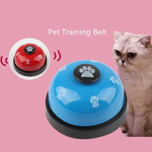 Fashion Stainless Steel Plastic Pet Dog Training Bell Metal Creative Paint Toys Call for