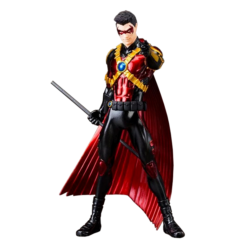 ФОТО Wolves World DC Comics Toys ARTFX+ Red Robin Scale Batman Doll PVC Action Figure Figurine Resin Collection Model Toy Gifts 002