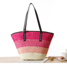 HOT PRODUCT! New Straw Woven Beach Tote Bag