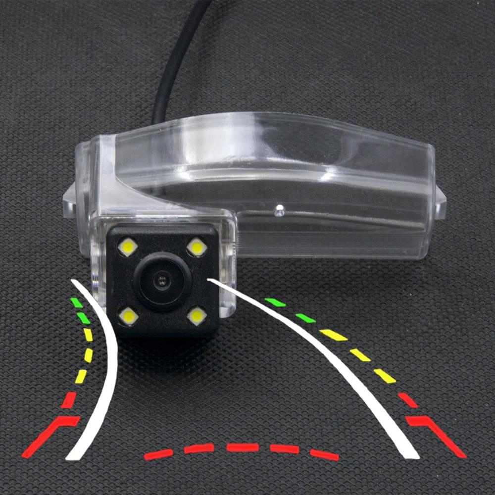 Caméra de recul pour voitures, 4LED, trajectoire dynamique, pour Mazda 3 Sport 2004, 2005, 2006, 2007, 2008, 2009, 2010, 2011, 2012, 2013