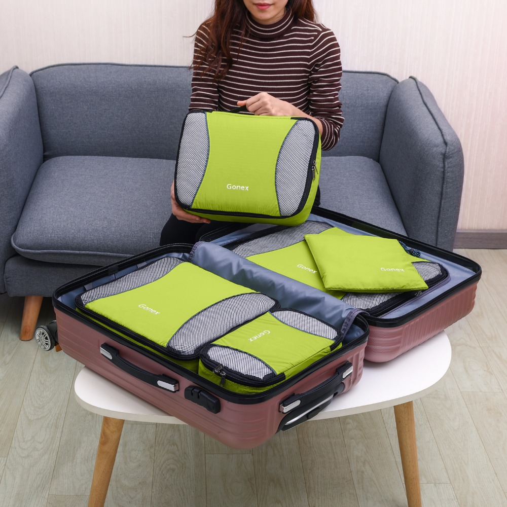HTB1rvVmeoGF3KVjSZFoq6zmpFXaT Travel Packing Cubes set (Gonex)