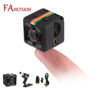 FANGTUOSI sq11 Mini Camera HD 1080P Sensor Night Vision Camcorder Motion DVR Micro Camera Sport DV Video small Camera cam SQ 11(China)